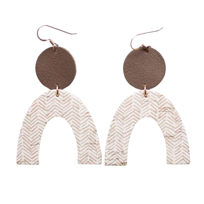 Soft Taupe Rory Earrings