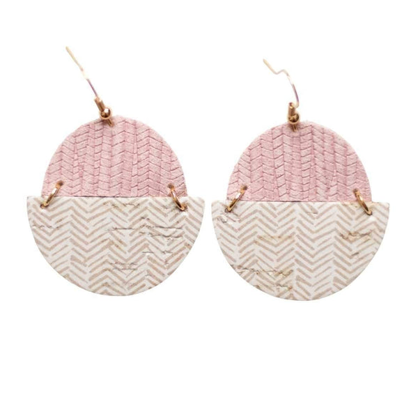 Soft Taupe Claire Earrings