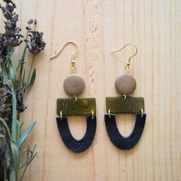 Olive Abigail Earrings
