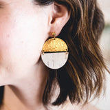 White Birch Claire Earrings