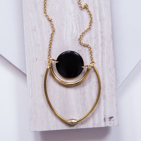 Black Dylan Necklace