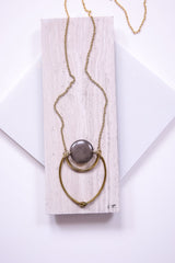 Gray Dylan Necklace