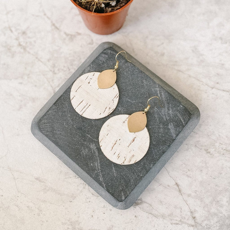 White Birch Macy Earrings
