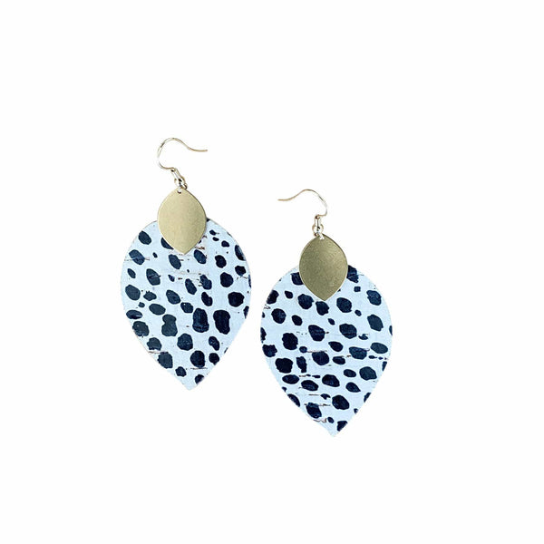 Dalmatian Cora Earrings