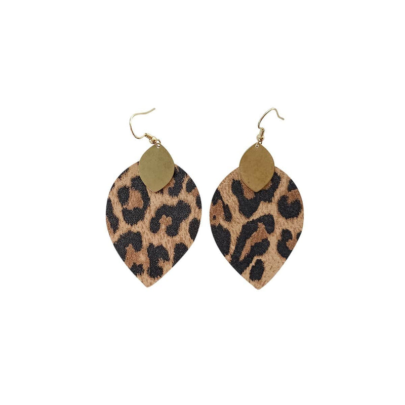 Leopard Cora Earrings