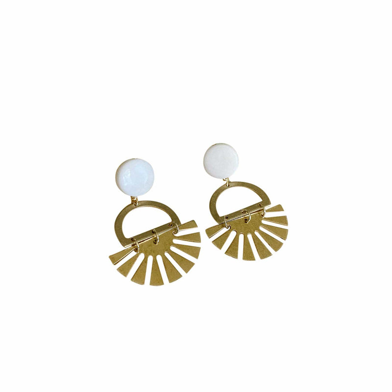 Ivory Hope Earrings