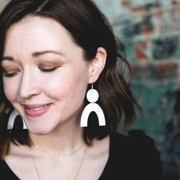 White Birch Rory Earrings