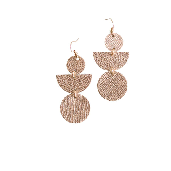 Rose Gold Lark Earrings