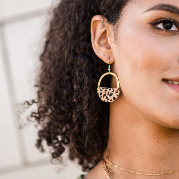 Cheetah Jo Earrings