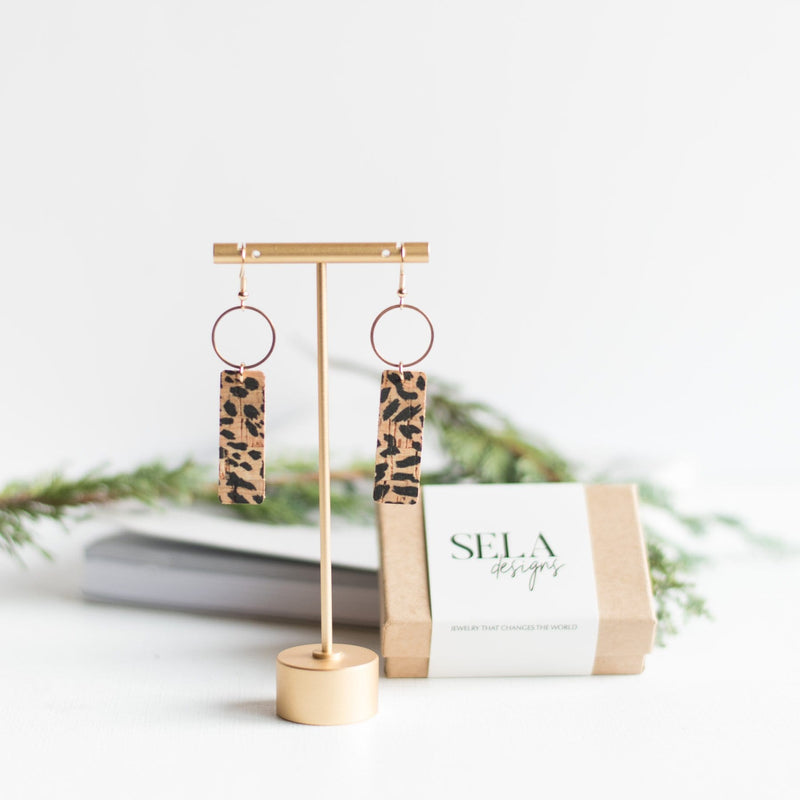 Cheetah Mia Earrings