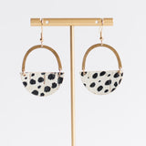 Dalmatian Jo Earrings