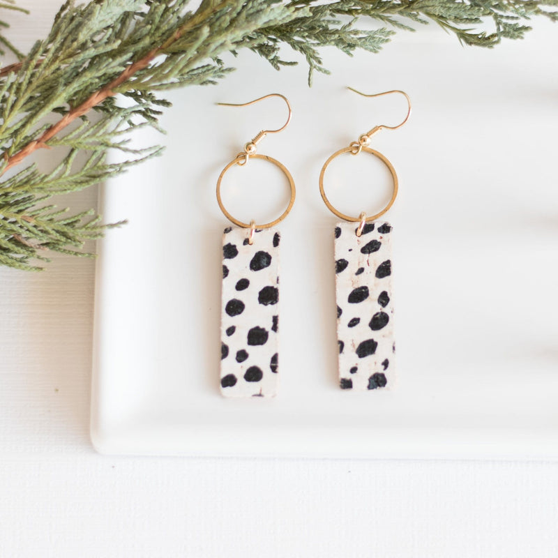 Dalmatian Mia Earrings