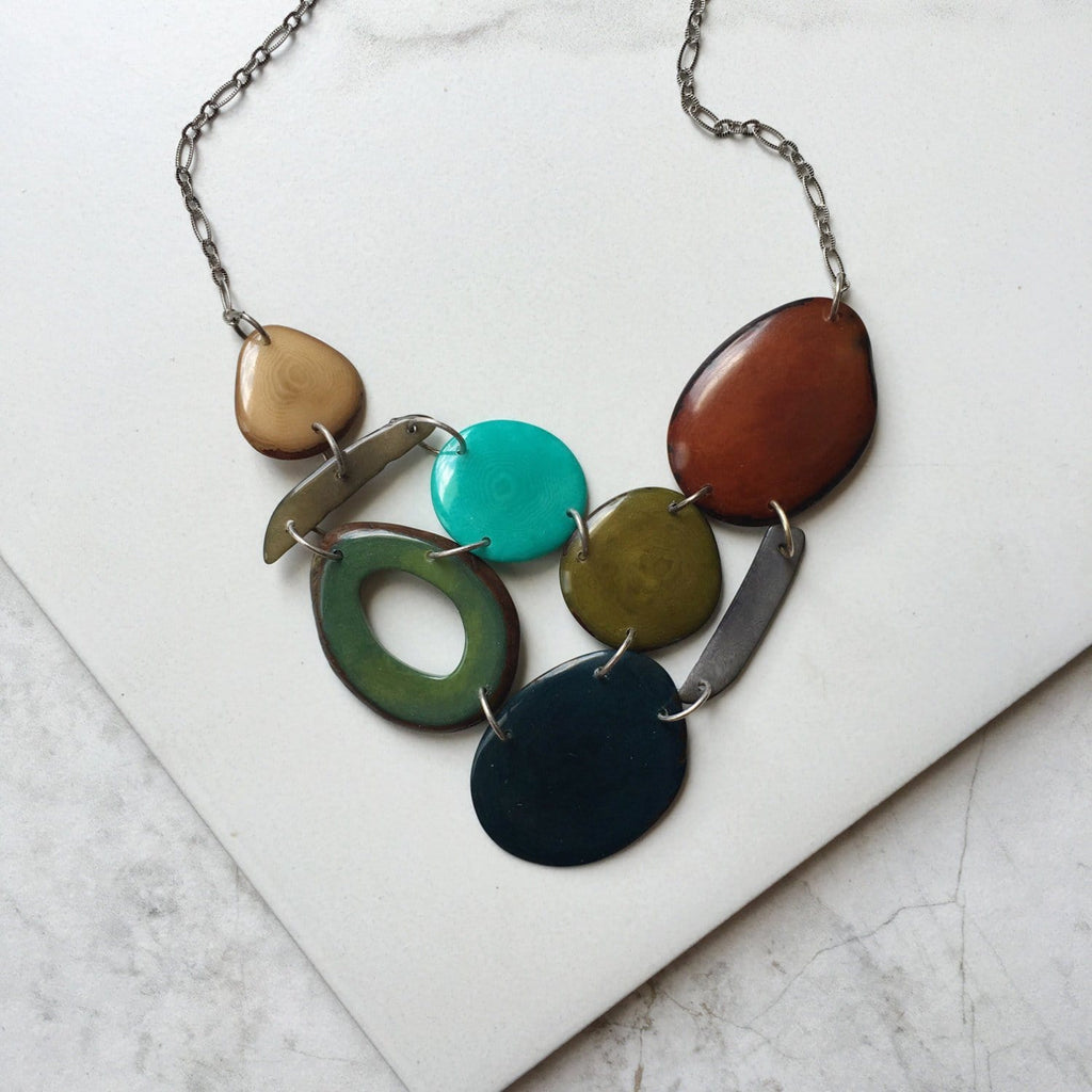 The Erin Necklace in Spice - Sela Designs