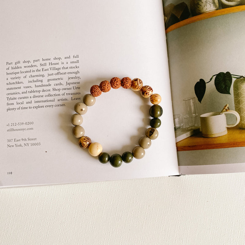 Gray Days Melody Diffuser Bracelet
