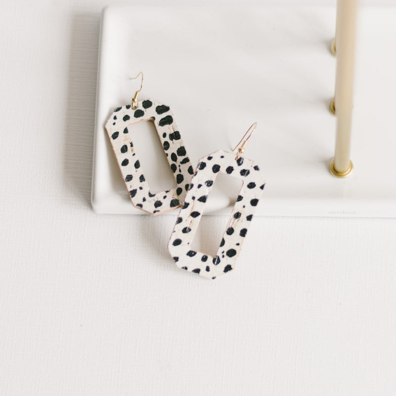 Dalmatian Denver Earrings
