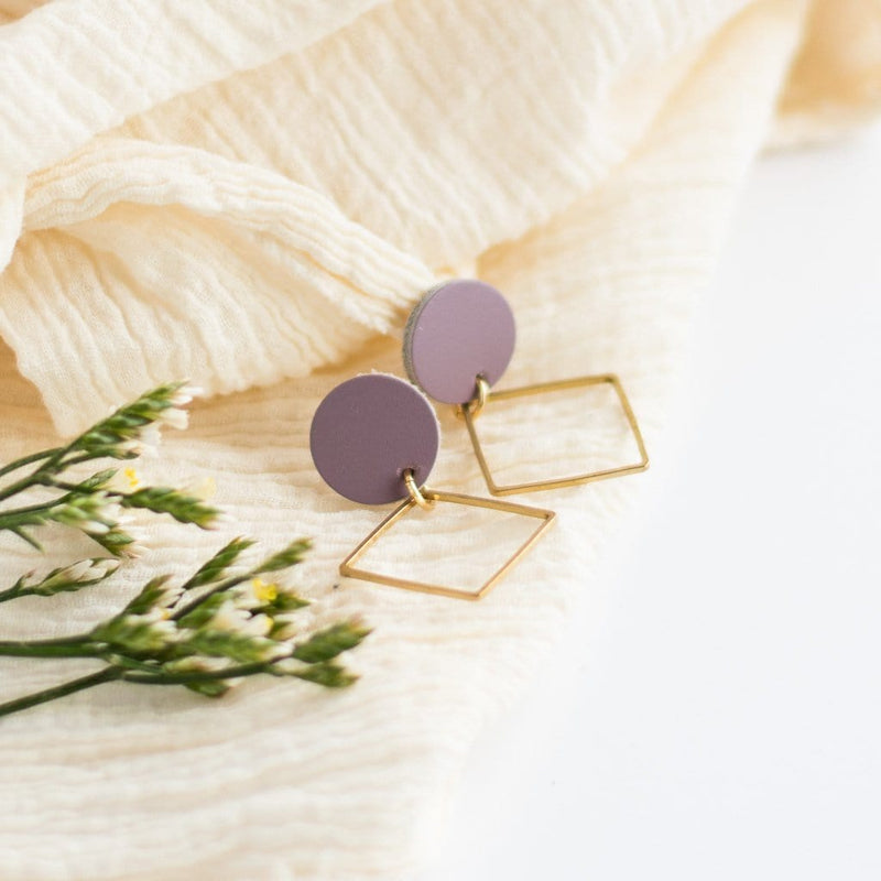 Lavender Lara Earrings
