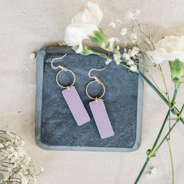 Lavender Mia Earrings