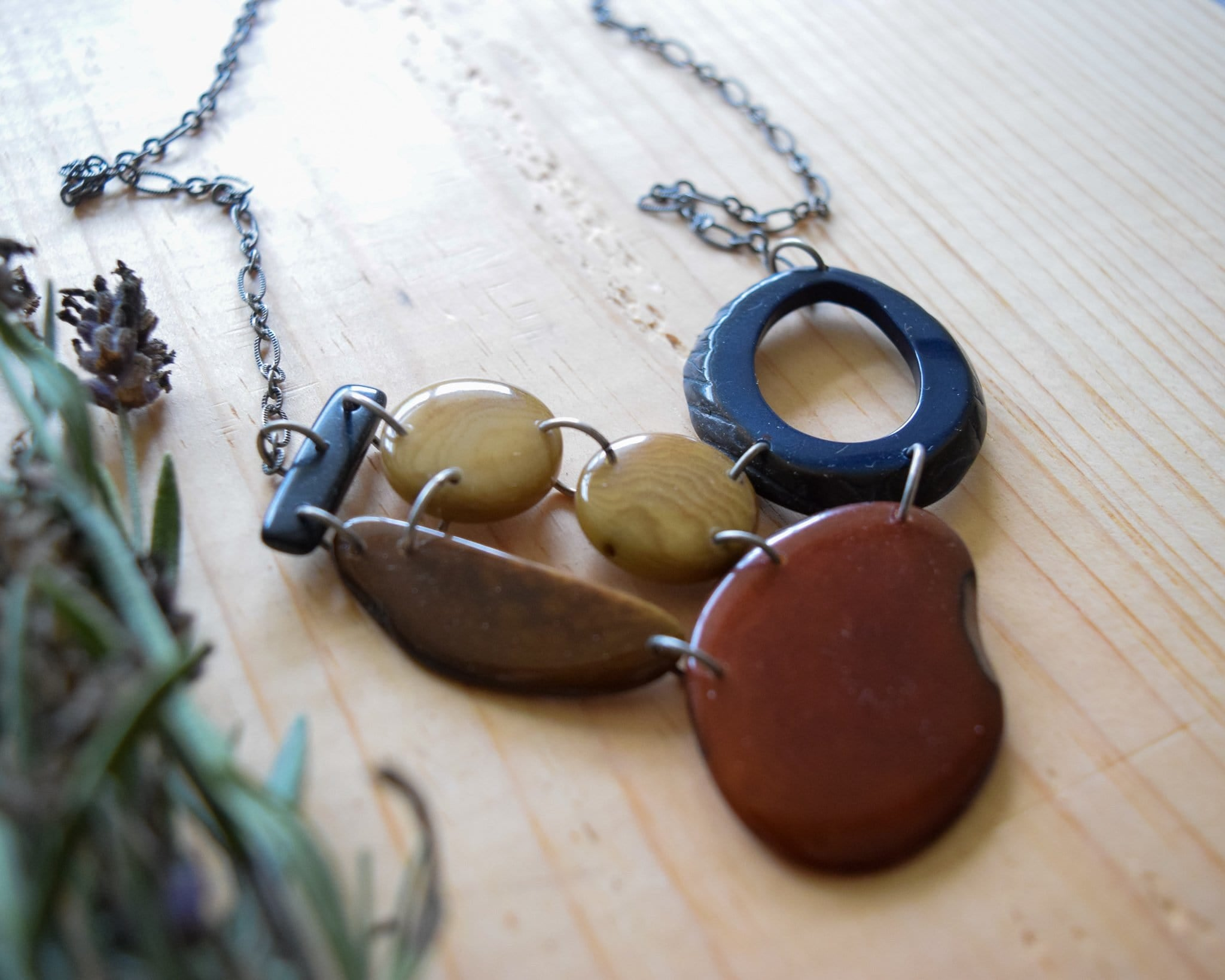 Leigh Tagua Necklace
