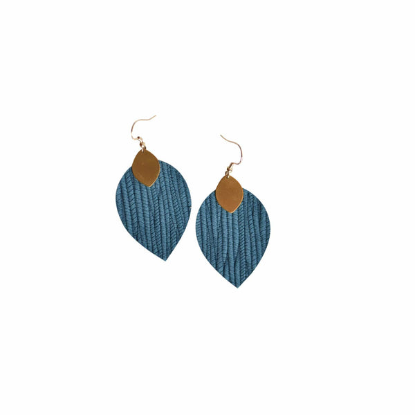 Teal Cora Earrings