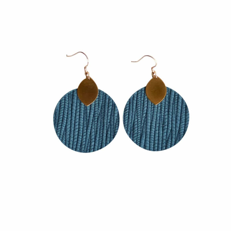 Teal Macy Earrings