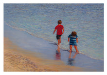 Greeting Card Australian Made Beach scene