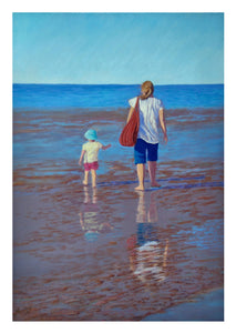 Card - Hervey Bay Afternoon 178x127mm-white border 7mm