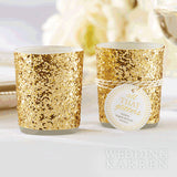 All that Glitter - GOLD Tealight Holder Wedding Favours