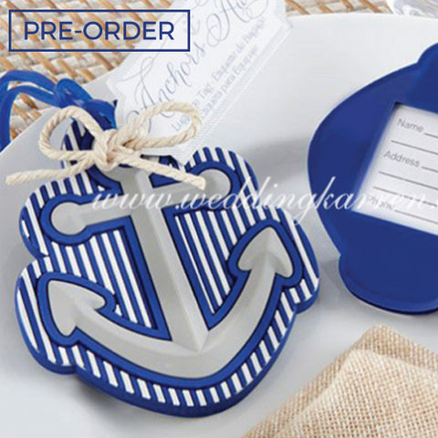 Anchor - Luggage Tag Favours Door Gifts
