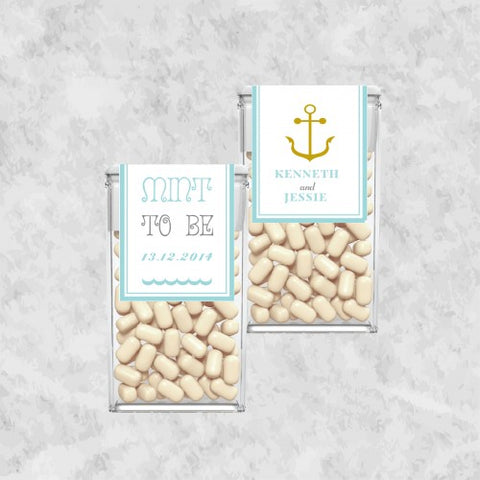 Anchor Personalized Tic Tac Wedding Favours