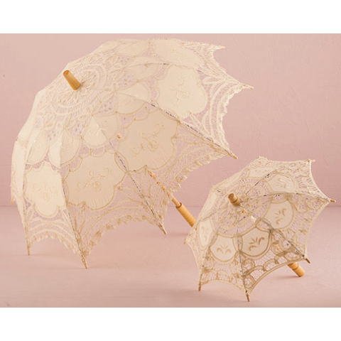 Antique Battenburg Lace Parasol
