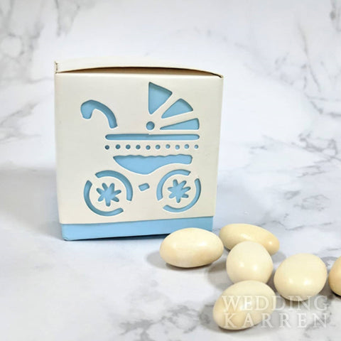 Baby's Day Out - BLUE Baby Shower Favours Box