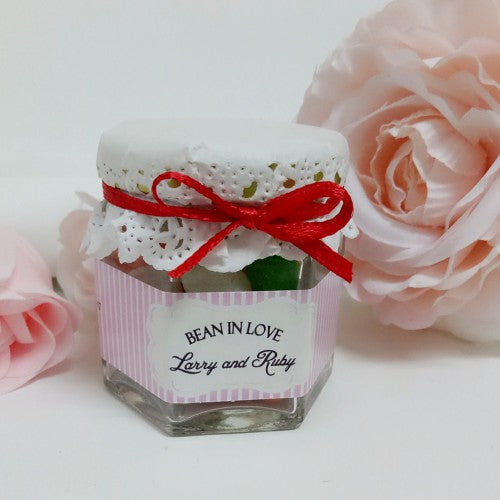 Bean in Love - Mini Jelly Bean Wedding Favours