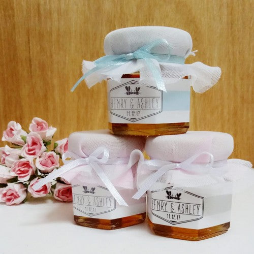 Bees With Love Mini Honey Wedding Favours Wedding Karren