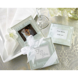 Blow Kisses & Good Wishes - Coaster Wedding Favours
