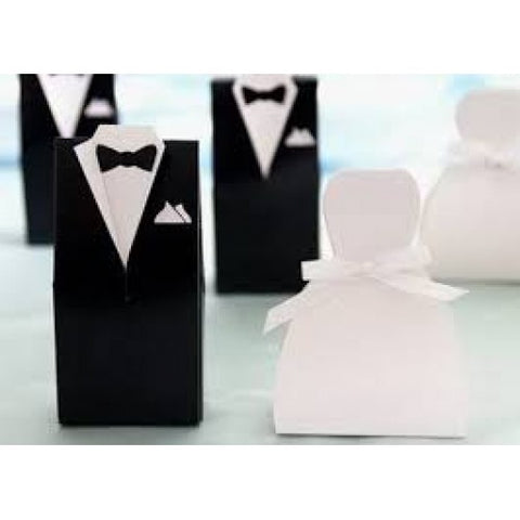 Bride & Groom - Wedding Favours Packaging Box