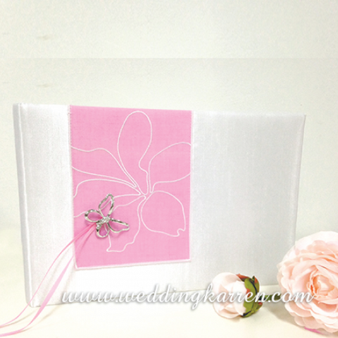 Butterfly Dream - PINK Traditional Guestbook