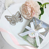 Butterfly in Garden - Bookmark Wedding Favours