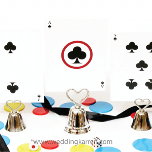 Casino Theme - Table Number Card