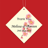 Cherry Blossom - Personalized Wedding Favours Tag