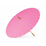 Cherry Pink Paper Parasol