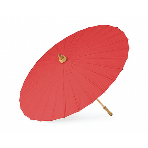 Chili Red Paper Parasol