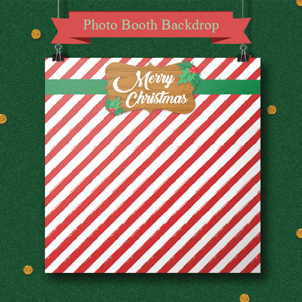 Christmas Theme - Party Photo Booth Backdrop
