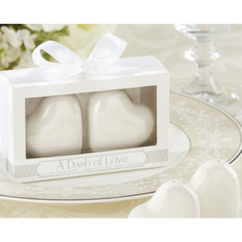 Dash of Love - Salt & Pepper Shaker Wedding Favours
