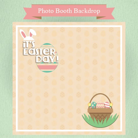 Easter Theme - Party Photo Booth Backdrop