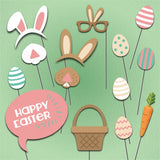 Easter Theme - Party Photo Booth Props