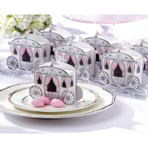 Enchanted Carriage - Packaging Box Favours Door Gifts
