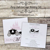Fairy Tale Carriage - Wedding Invitation Card