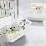 Feathering the Nest - Salt & Pepper Shaker Wedding Favours