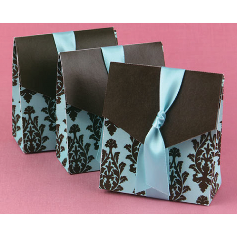 Flourish Motif - Wedding Favours Box Door Gifts