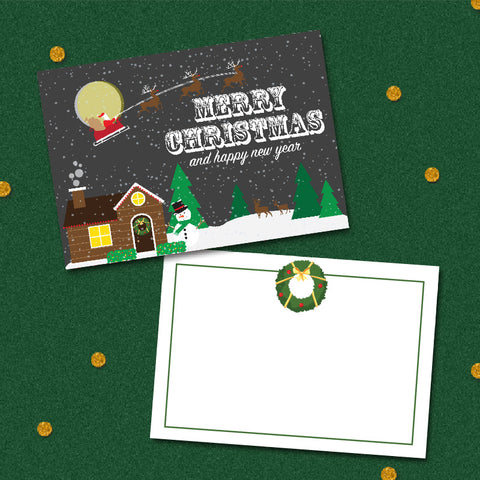 Ho Ho Ho - Christmas Collection Greeting Card
